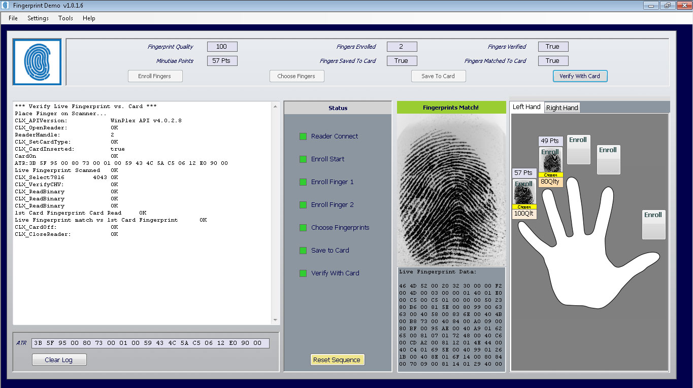 M O S T Toolz Sdk Fingerprint Edition Cardlogix