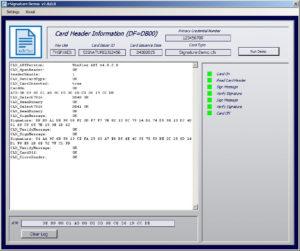 Smart card esignature demo software