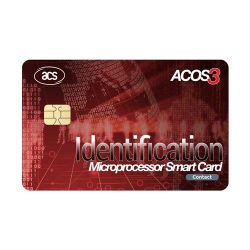 ACS ACOS3 Contact Microprocessor Smart Card