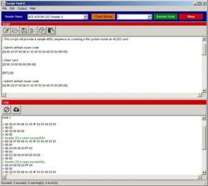 ACS ACR39U-SDK Smart Card Reader Script Tool