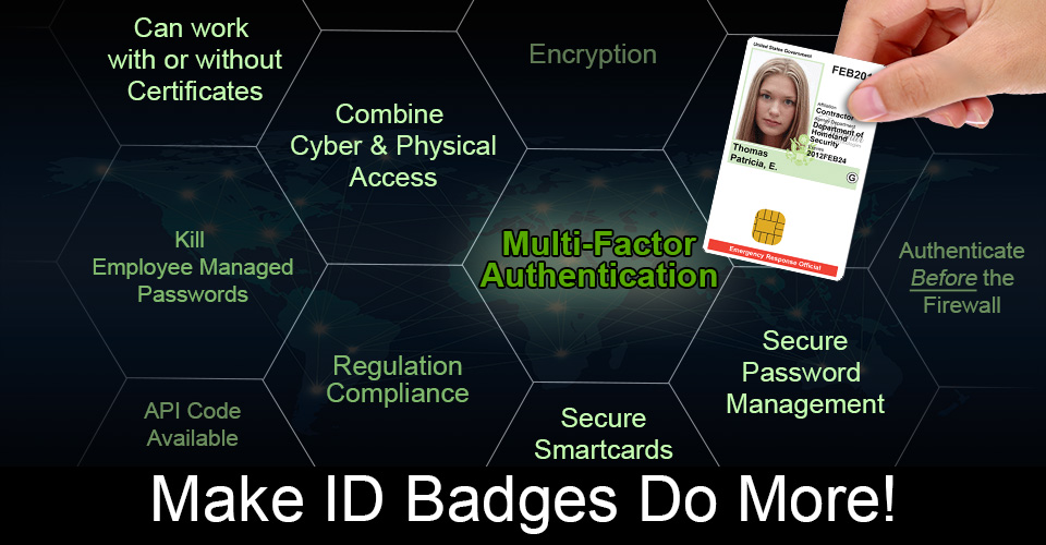 Power LogOn - Smart Card ID Badges