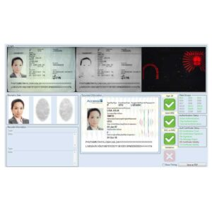 AccessIS Atom secure document and eMRTD reader software