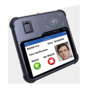 BIOSID Pro Enrollment and Verification Tablet Device