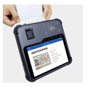 BIOSID PRO Biometric Enrollment and Verification Tablet device w/ MRZ scanner