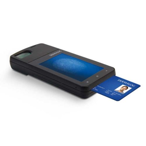 Dermalog SVT 3000 biometric mobile handheld