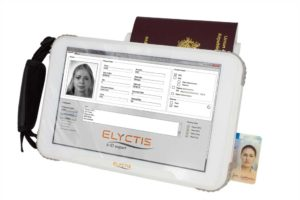 Elyctis ID TAB- Biometric Tablet with Smart Card reader and MRZ