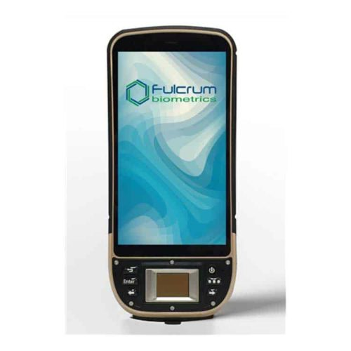 Fulcrum Biometrics Rugged Android Multimodal Handheld
