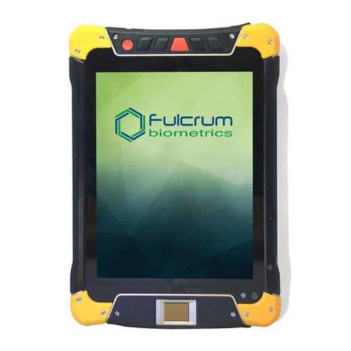 Fulcrum Biometrics enrollment mobile tablet