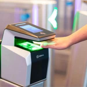 MorphoWave Compact Biometric Access Control Scanner