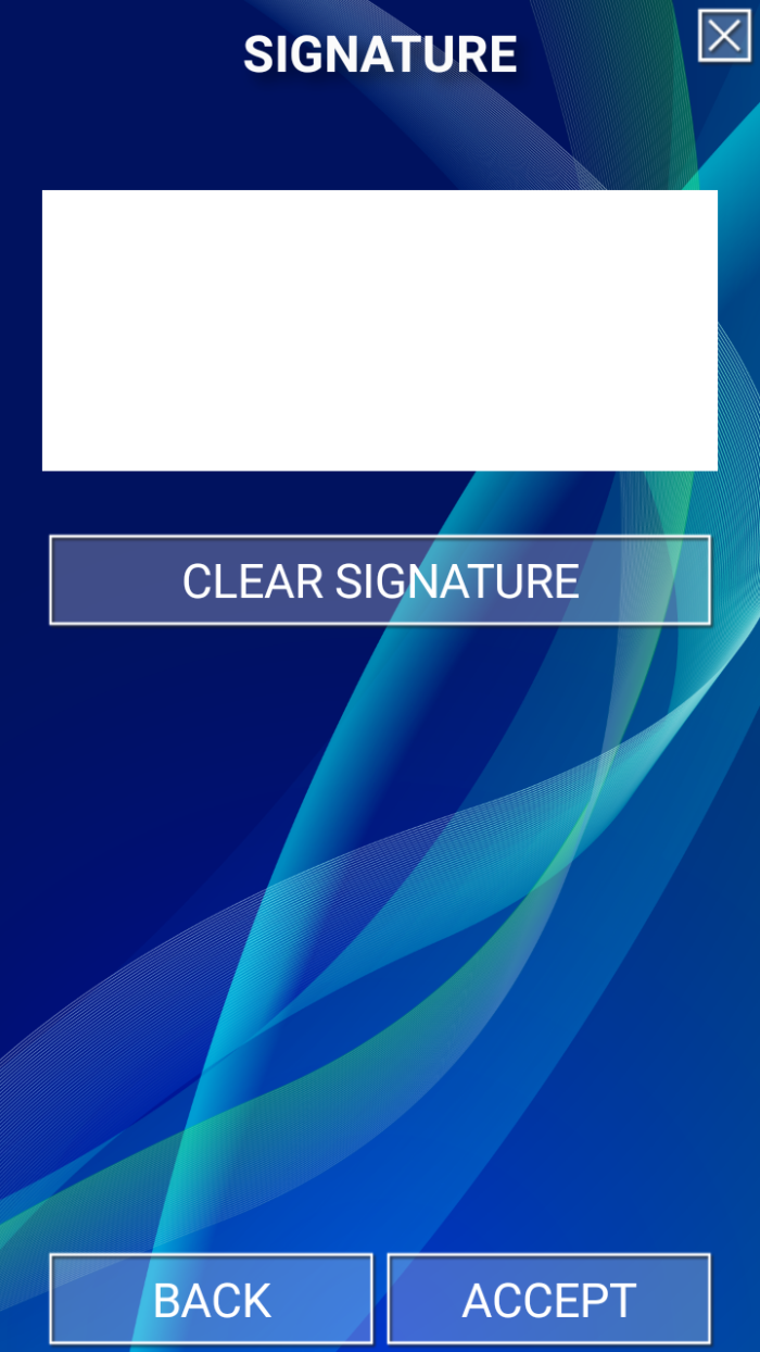 fastcheck signature capture for mobile identity verification