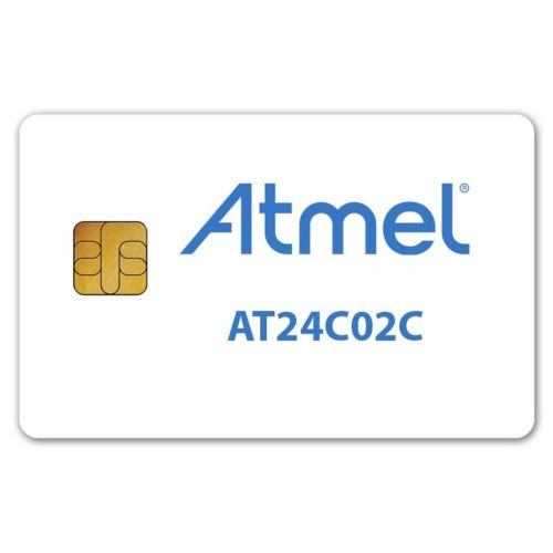 Atmel AT24C02C memory smart card