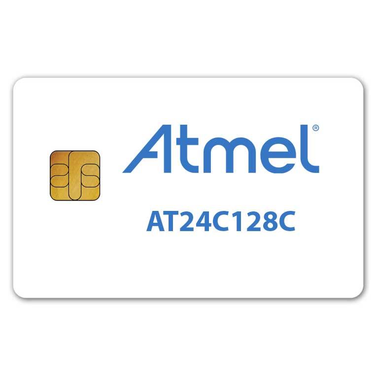Atmel AT24C128C memory smart card