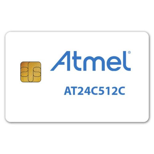 Atmel AT24C512C memory smart card