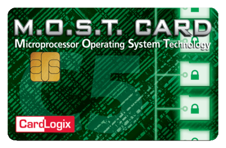C5 MOST Microprocessor Smart Card