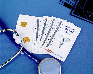 healthcare card, health smart card, smart card