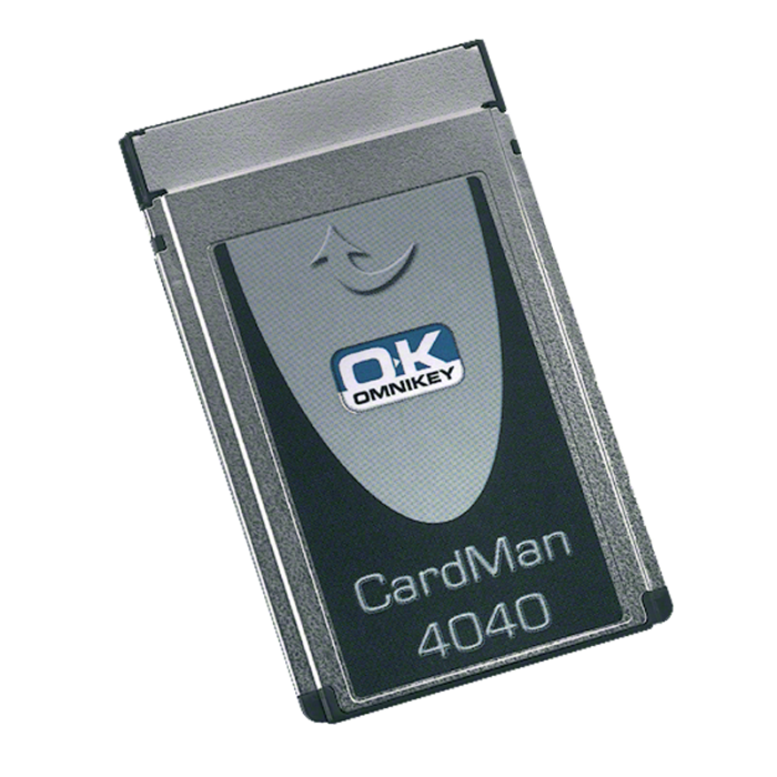 HID Omnikey CardMan 4040 PCMCIA smart card reader