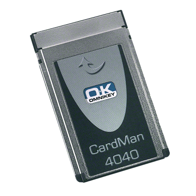 HID OMNIKEY 4040 PCMCIA Smart Card Reader