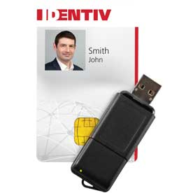 Identiv SCL3711 contactless USB smart card reader