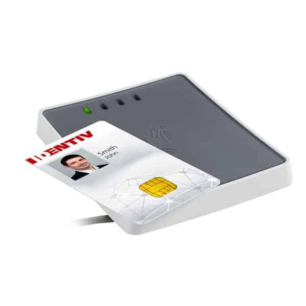 Identiv 4711 F Smart Card Reader w/ SAM