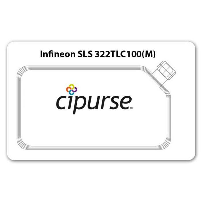 Infineon CIPURSE™T Card 8K w/ MIFARE 4k