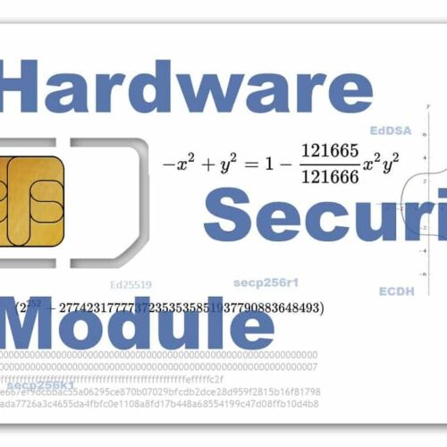 Hardware Secure Module HSM SAM card