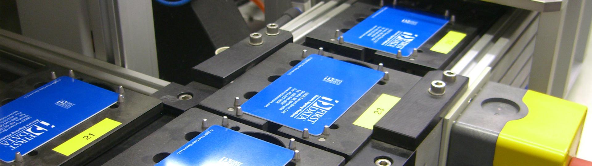 Smart card manufacturing