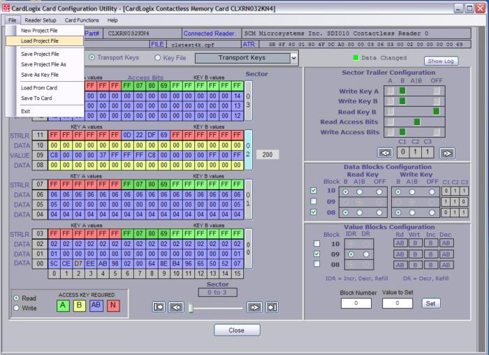 Mifare Desfire development kit (SDK)