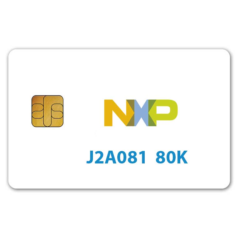 NXP JCOP J2A081 Java Card 80K