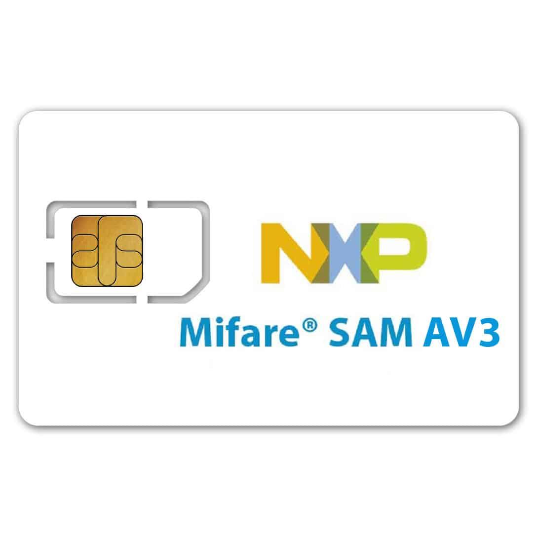 NXP MIFARE AV3 SAM Card (Secure Access Module)