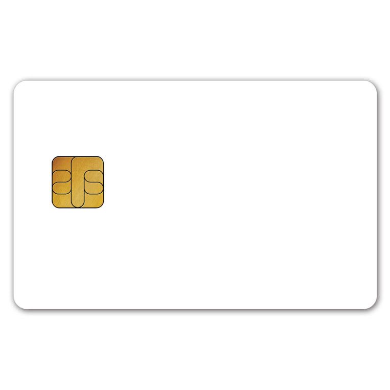 Contact memory and microprocessor smart card